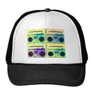 Boombox Quad Style Trucker Hat