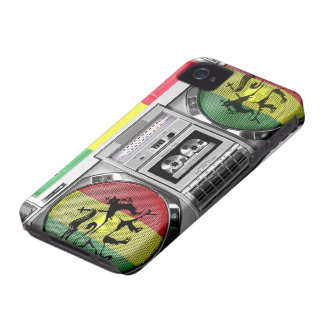 boombox reggae iPhone 4 covers