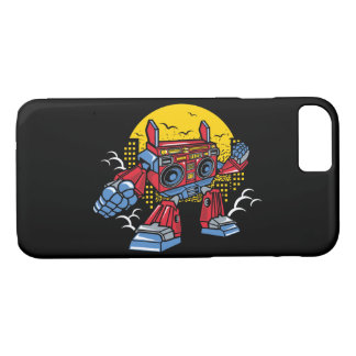 BoomBox Robot Glossy Phone Case