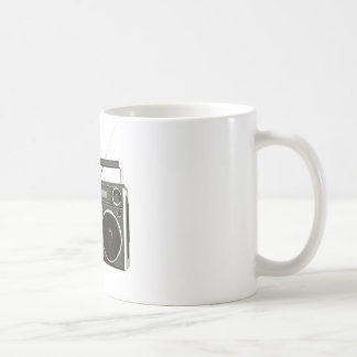 Boombox Stereo Radio Coffee Mug