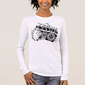 Boombox TRUMP IT UP Longsleeve American Apparel Long Sleeve T-Shirt