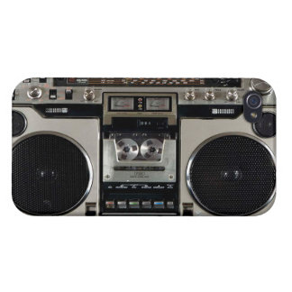 Boombox Vintage iPhone Case