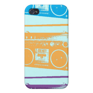 Boomboxes Case For iPhone 4