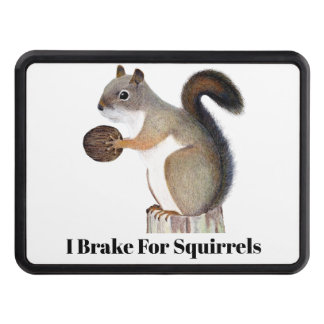 Boomer Squirrel Trailer Hitch Cover