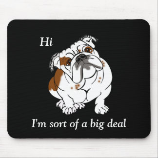 Boomer the Bulldog Mouse Pad