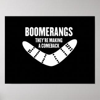 Boomerangs Poster