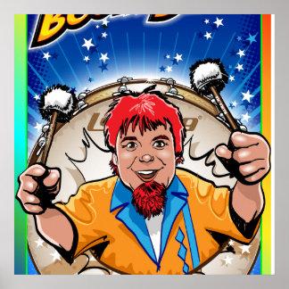 BoomerBeats Drum Break Poster