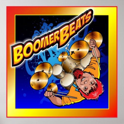 BoomerBeats Drummer Poster