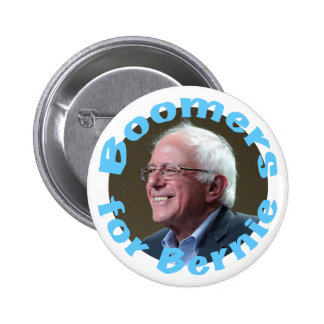 Boomers for Bernie 2 Inch Round Button