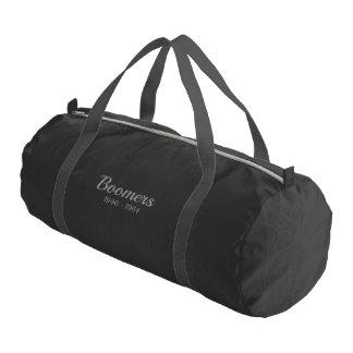 Boomers gym bag