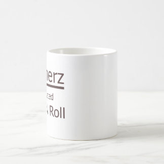 Boomers, we created rocknroll coffee mug