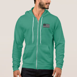 Boomers Zip Hoodie with flag