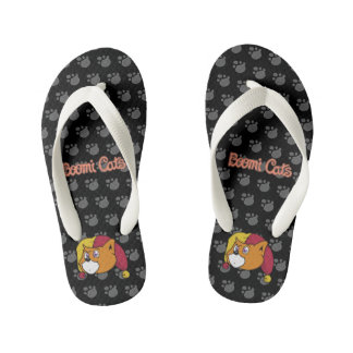 Boomi Cats Kid's Flip Flops