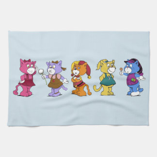 Boomi Cats Kitchen Towel