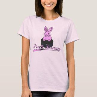#BOOMNASTY Hockey Puck Bunny T T-Shirt