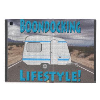 Boondocking Lifestyle Camper Design Cover For iPad Mini