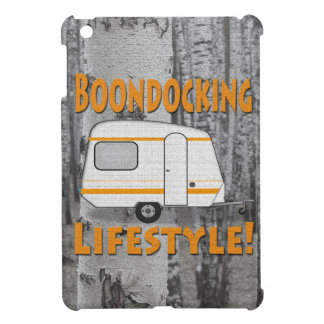 Boondocking Lifestyle Camper Design Cover For The iPad Mini