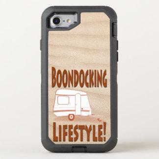 Boondocking Lifestyle Camper Design OtterBox Defender iPhone 8/7 Case