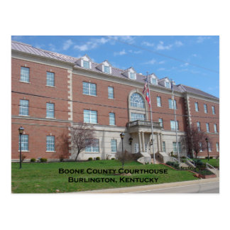 Boone County Courthouse Postcard