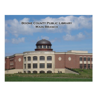 Boone County Library Postcard