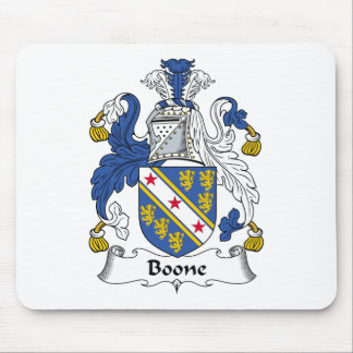 Boone Family Crest Mouse Pad
