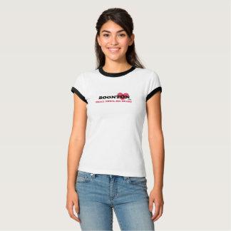BOONTON USA, SMALL TOWN, BIG HEART RINGER WOMEN T-Shirt