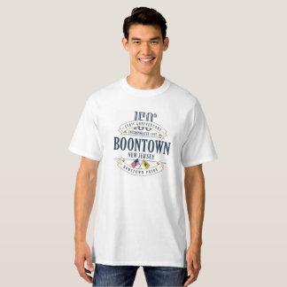 Boontown, New Jersey 100th Anniv. White T-Shirt