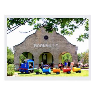 Boonville Depot by Kathy Cornett Postcard