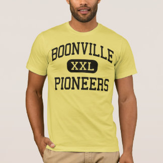 Boonville - Pioneers - High - Boonville Indiana T-Shirt