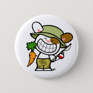 Boony 'Gone Carrot-ing' Button