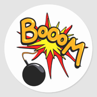 Booom! Sticker