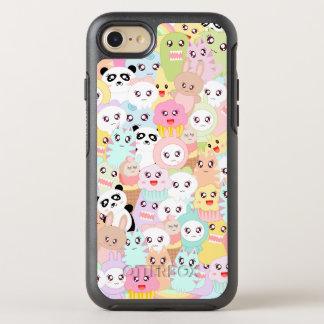 BooPooBeeDoo kawaii doodle OtterBox Symmetry iPhone 7 Case