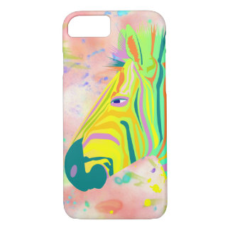 BooPooBeeDoo multi color zebra iPhone 8/7 Case