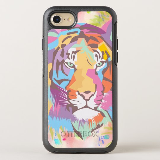 BooPooBeeDoo Tiger OtterBox Symmetry iPhone 7 Case