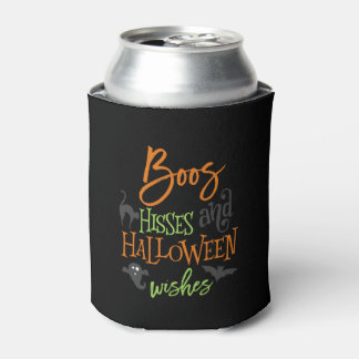 Boos Hisses and Halloween Wishes Can Cooler
