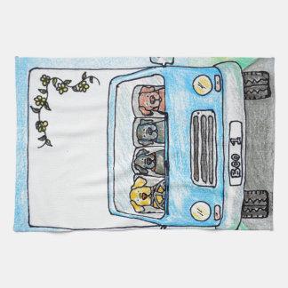 Boo's Van Kitchen Towel