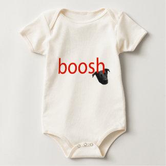 boosh brand logo apparel baby bodysuit