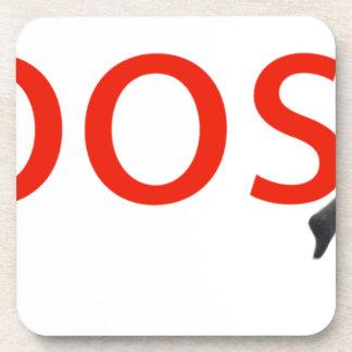 boosh brand logo apparel coaster
