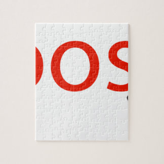 boosh brand logo apparel jigsaw puzzle