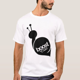Boost Gets You Laid - Black Snail T-Shirt