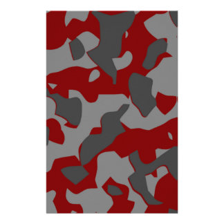 Boot Camp Camo Stationery