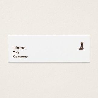 Boot - Skinny Mini Business Card