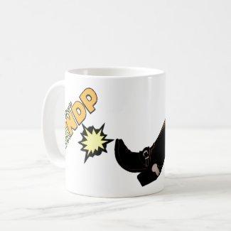 Boot The NDP: Coffee Mug