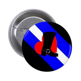 bootblack pride flag 2 inch round button
