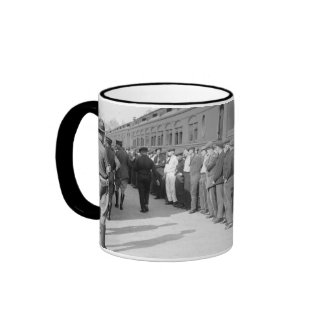 Booted from Hoboken, early 1900s Coffee Mug