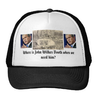 booth-stage-fords-theater, 0822bush, 0822bush, ... trucker hat