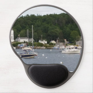 Boothbay Harbor, Maine Boats Gel Mousepad