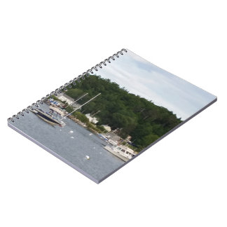 Boothbay Harbour Boats Notebook (80 Pages B&W)