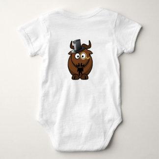 Bootie Forward Baby Bodysuit