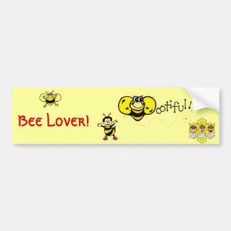 Bootiful Bee Bumper Sticker